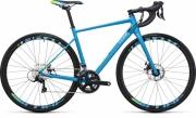 Bike Cube Axial WLS Pro Disc reefblue´n´green 50 cm