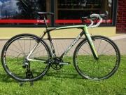 Ratas Merida Cyclo Cross Team  55cm valge-roheline-carbon
