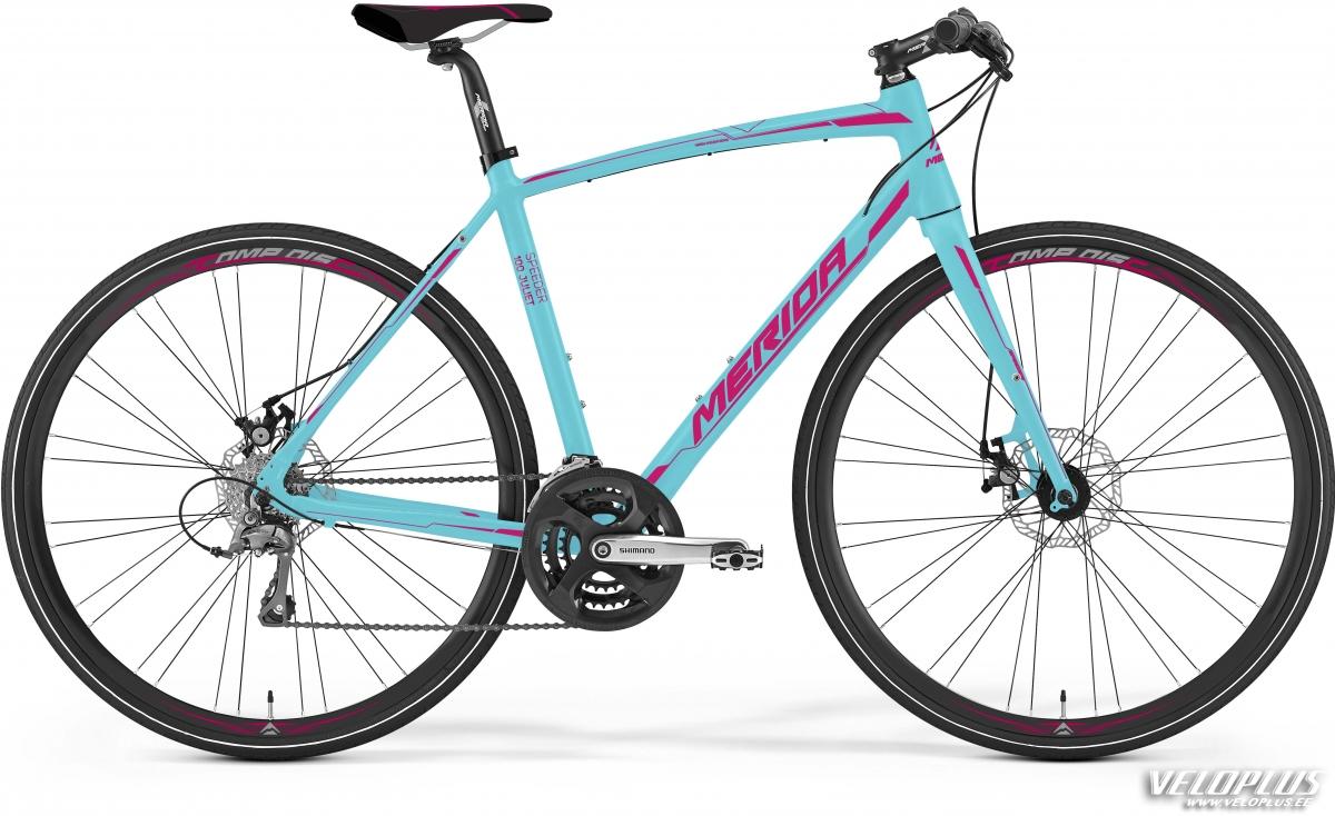 Bike Merida Speeder 100-Juliet 47cm matt mint-rubine red   Veloplus