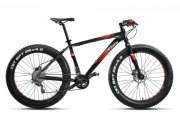Fatbike MONTANA FAT 26 DEORE 2x10 H-DISC 48cm/19 black-red