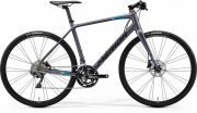 Bike Merida Speeder 500 M-L(54) matt anthracite (black/blue)