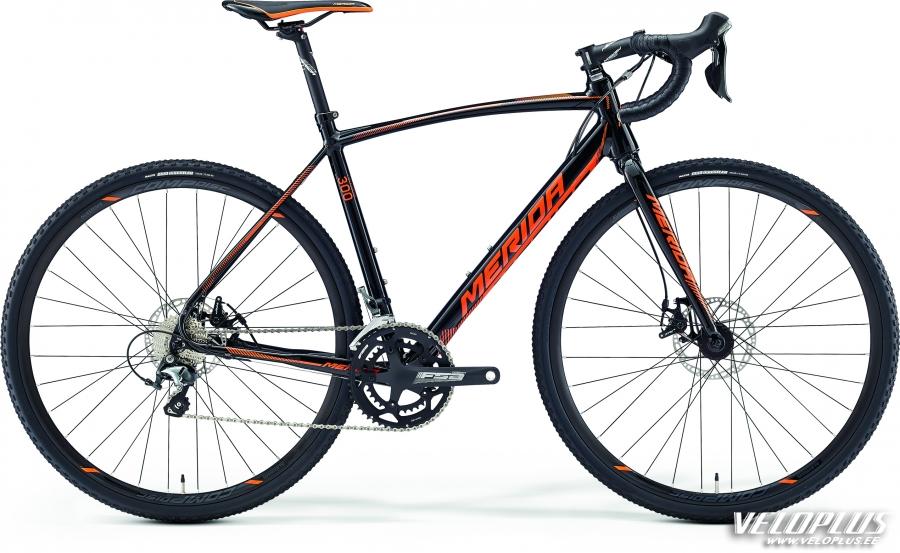 Bike Merida Cyclo Cross 300 XS (47cm) black-orange   Veloplus