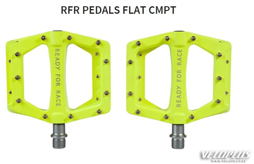 Cube Rfr Pedals Flat Cmpt Yellow Veloplus