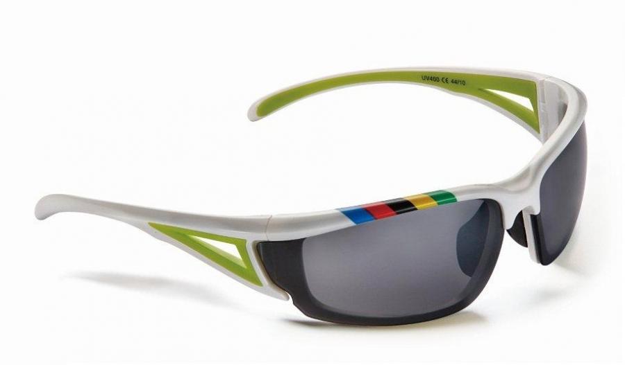 a7bfb8a4c88 Prillid Merida valge-roheline UCI rainbow