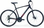 Bike Merida Crossway 40-D 52cm matt black-red-grey