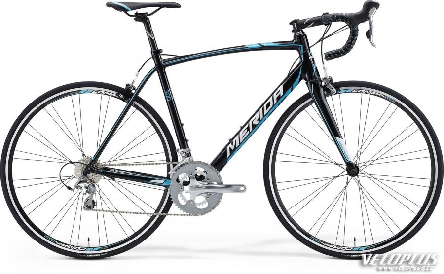 Bike Merida Scultura 300 XS 47cm black-blue-white   Veloplus