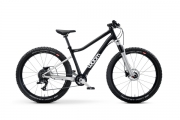 Kids MTB bike WOOM 5 OFF AIR 24 black/silver