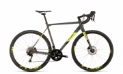 Ratas Cube Cross Race Pro hall-kollane 53cm