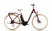 Ratas Cube Ella Ride Hybrid 500 punane-valge Lady EE 46cm