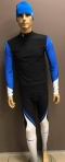 Võistluskombe Bjorn Daehlie Racesuit 2-osaline meeste must/sinine/valge