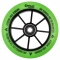 Tõukeratta ratas CHILLI BASE 110mm roheline/must