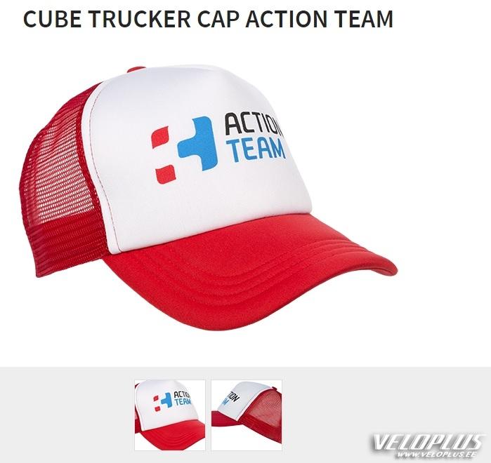7a8cbafbd29 Nokamüts Cube Action team punane | Veloplus