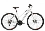 Bike Cube Nature Pro white black flashred 46 cm lady