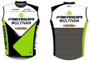 Vest Merida Multivan XL valge-roheline-must