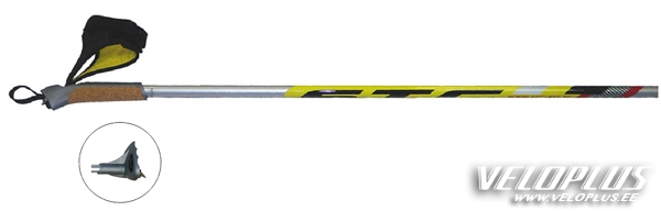 a34f207fa00 Suusakepid STC Avanti 100% carbon kollane 150cm | Veloplus