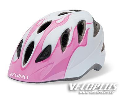74b237f88e7 Lastekiiver Giro Rascal roosa/valge leek One-Step S/50-54cm | Veloplus