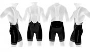 Lühikesed püksid Merida must-hall L