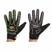 Pikad kindad Northwave SKELETON FULL GLOVES must/kollane XL (10)