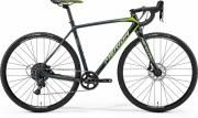 Ratas Merida Cyclo Cross 6000 L(56) hall-roheline-kollane