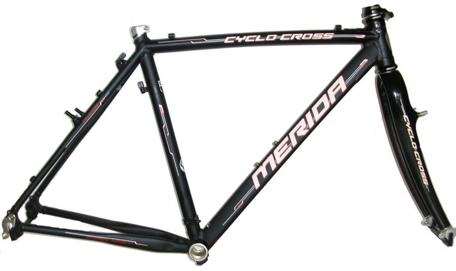 Frame Merida Cyclo Cross 5-KIT 52 black | Veloplus