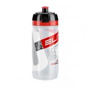 Pudel Elite Corsa läbipaistev punane Logo 550ml