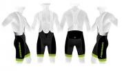 Lühikesed püksid Merida must-roheline L