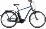 Elektriratas Cube Town Hybrid EXC 400 sinine-sinine 58 cm