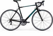 Bike Merida Scultura 100-Juliet XXS(44) black-white-petrol blue