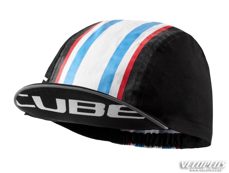 707ccc91307 Nokamüts Cube Race cap must-valge-sinine | Veloplus
