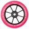 Tõukeratta ratas CHILLI BASE 110mm roosa/must