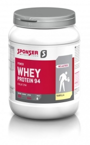 Sponser Whey protein 94, 425g. maasikas